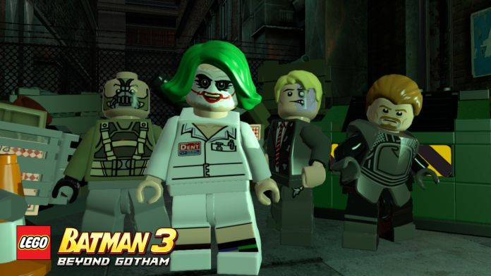 Play as Christopher Nolan's Dark Knight Trilogy characters in 'LEGO