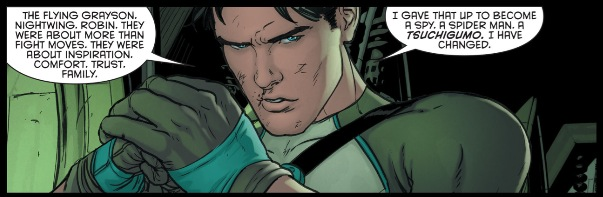 Dick Grayson in a nutshell.