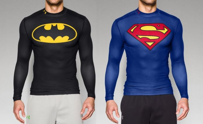 Smuk Under Armour is back with cool new Batman and Superman gear XT-86