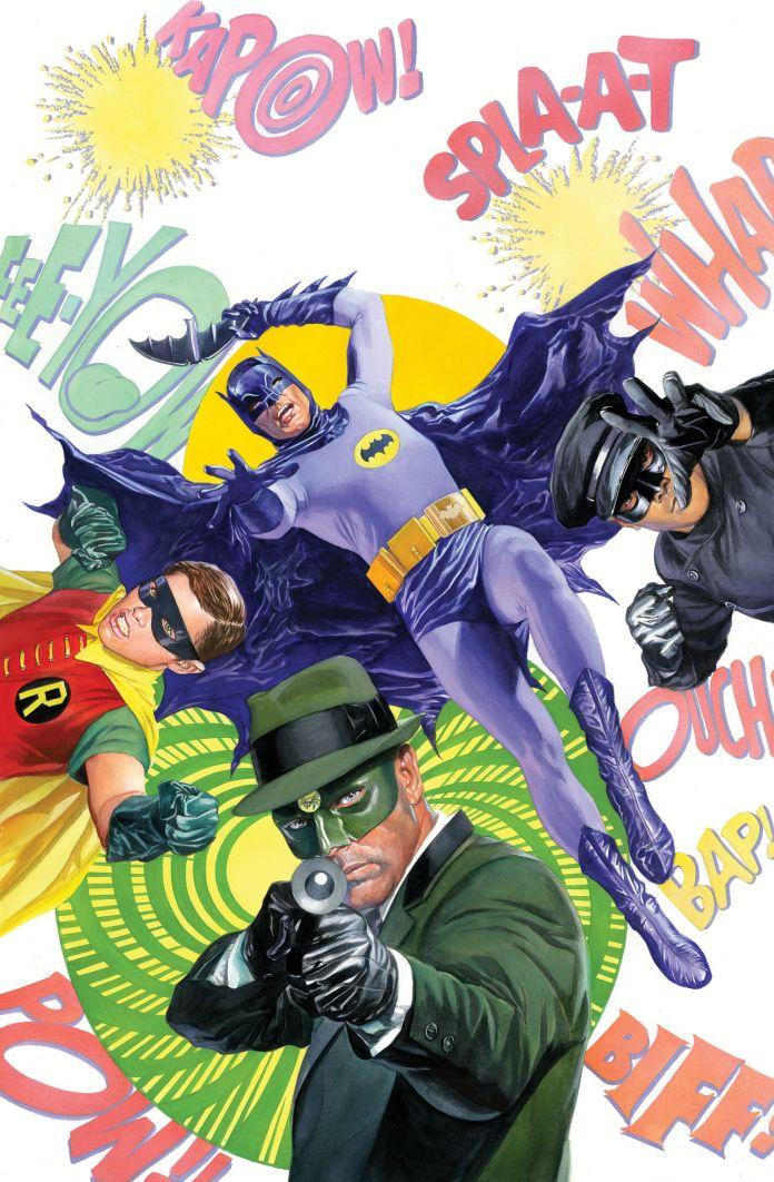 Batman Green Hornet gn