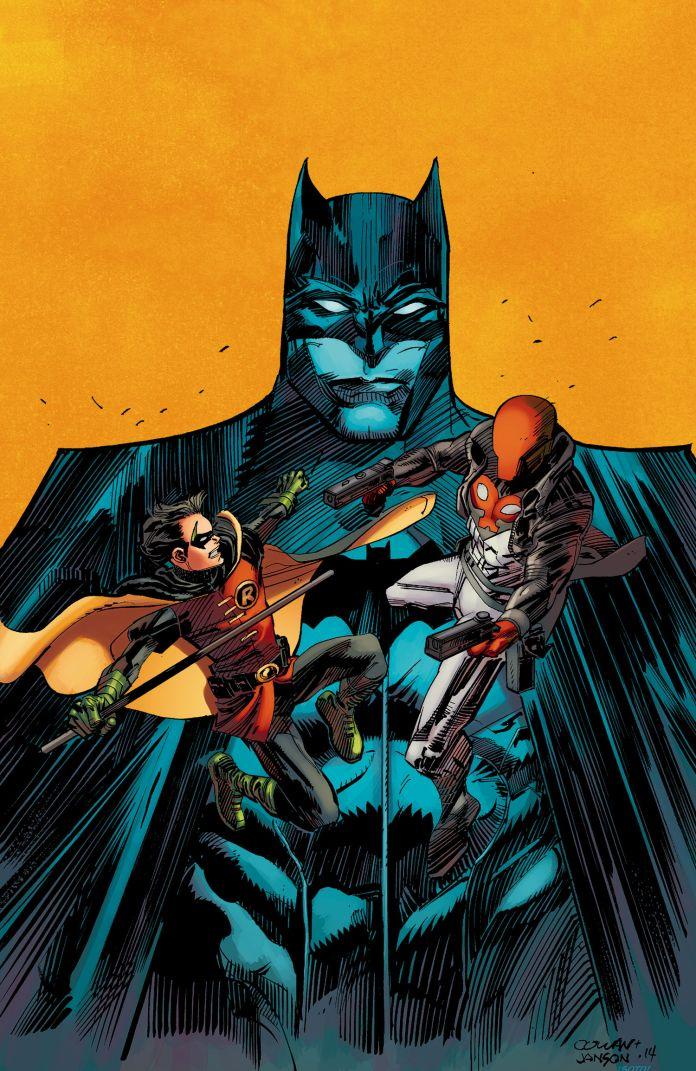 Convergence Batman and Robin 1