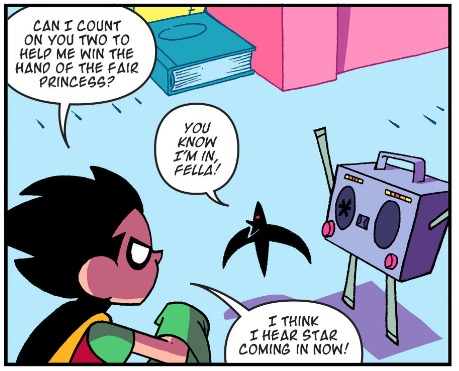 Beat Box is a pretty cool dude, too.
