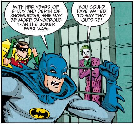 The Joker is so sad...