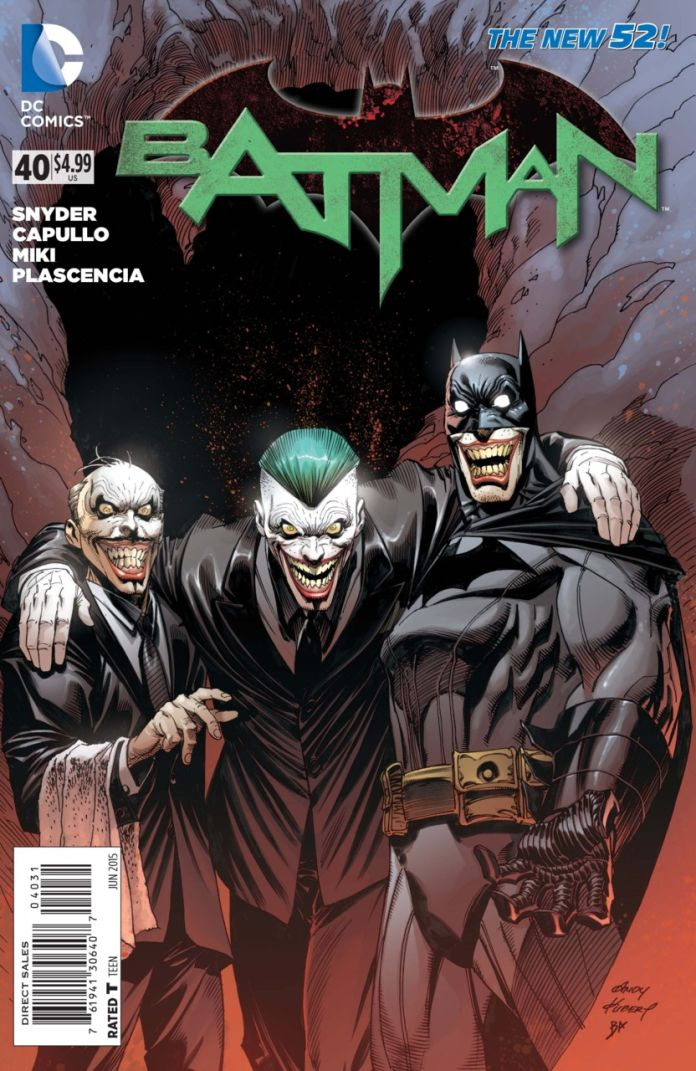 Batman 40 by Andy Kubert