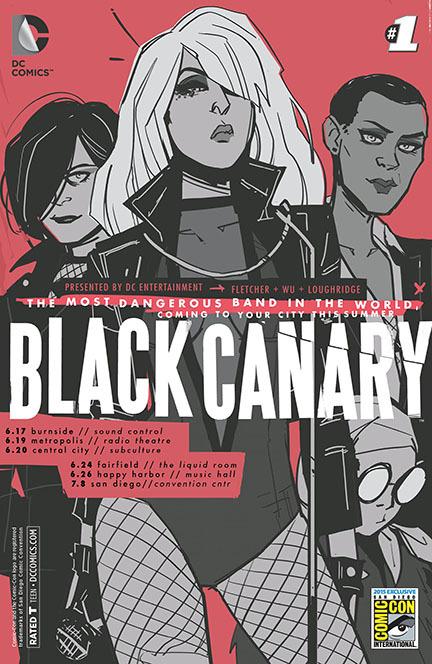 Black Canary 1 by Annie Wu
