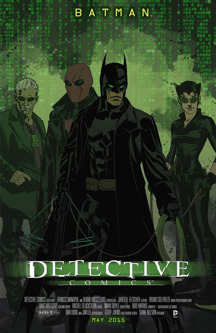 Detective Comics Movie Variant