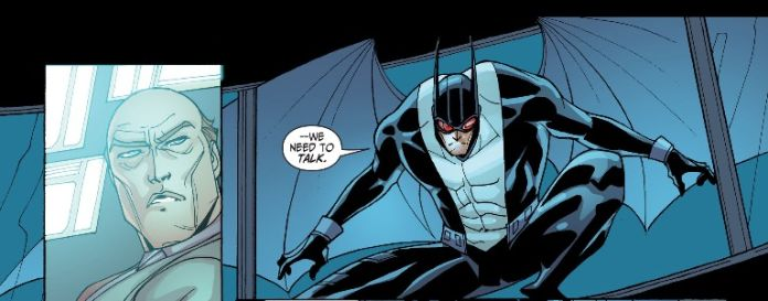 I also love the shades of T's costume from Batman Beyond 2.0.