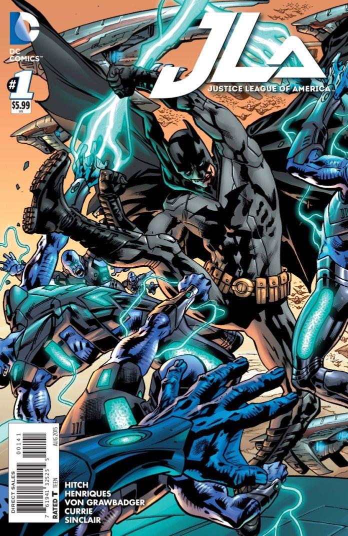 JLA 1 by Brian Hitch (Batman)