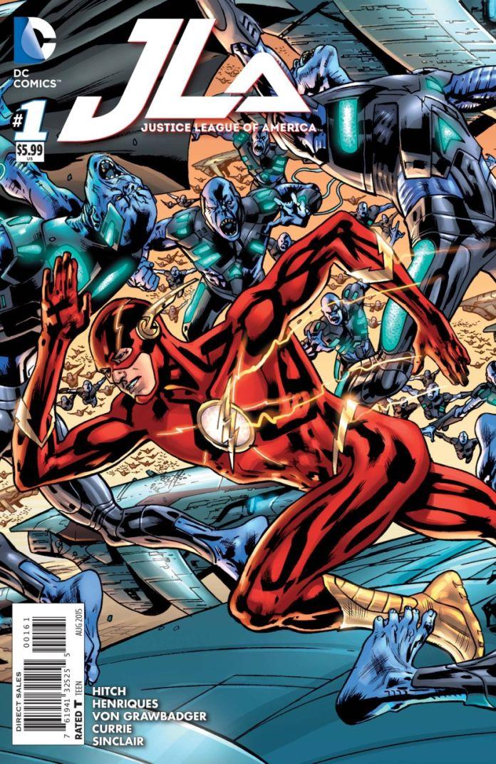 JLA 1 by Brian Hitch (Flash)