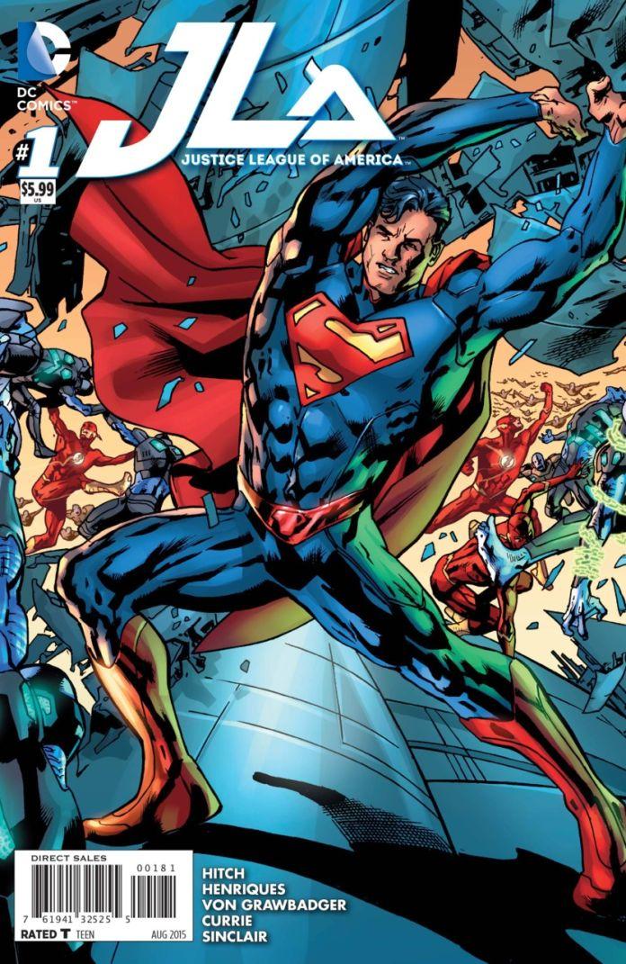 JLA 1 by Brian Hitch (Superman)