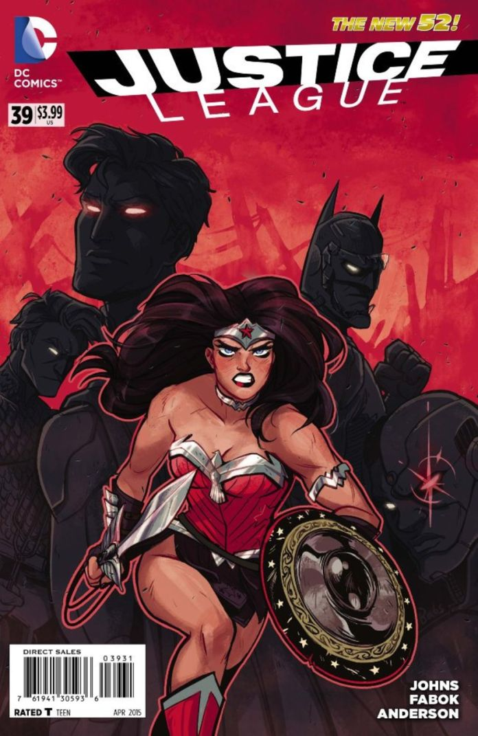 Justice League 39 by Babs Tarr