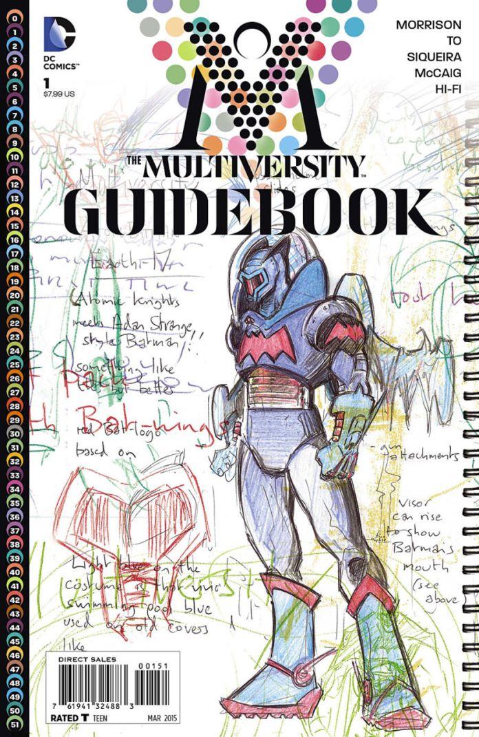 Multiversity Guidebook by Grant Morrison
