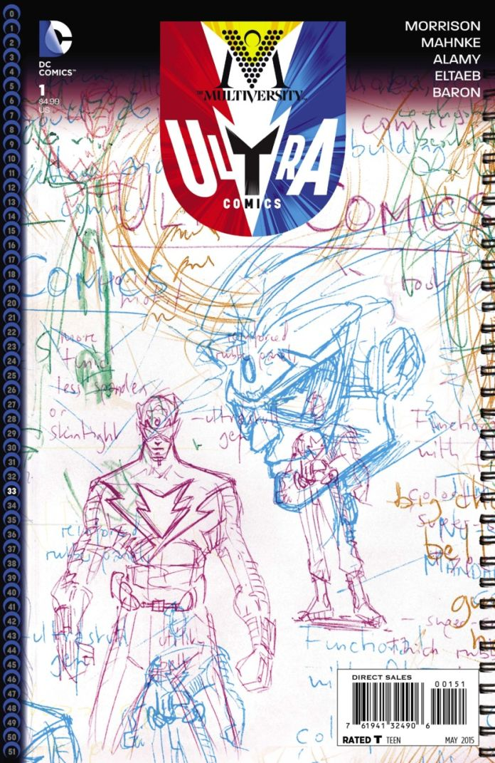 Multiversity Ultra Comics by Grant Morrison
