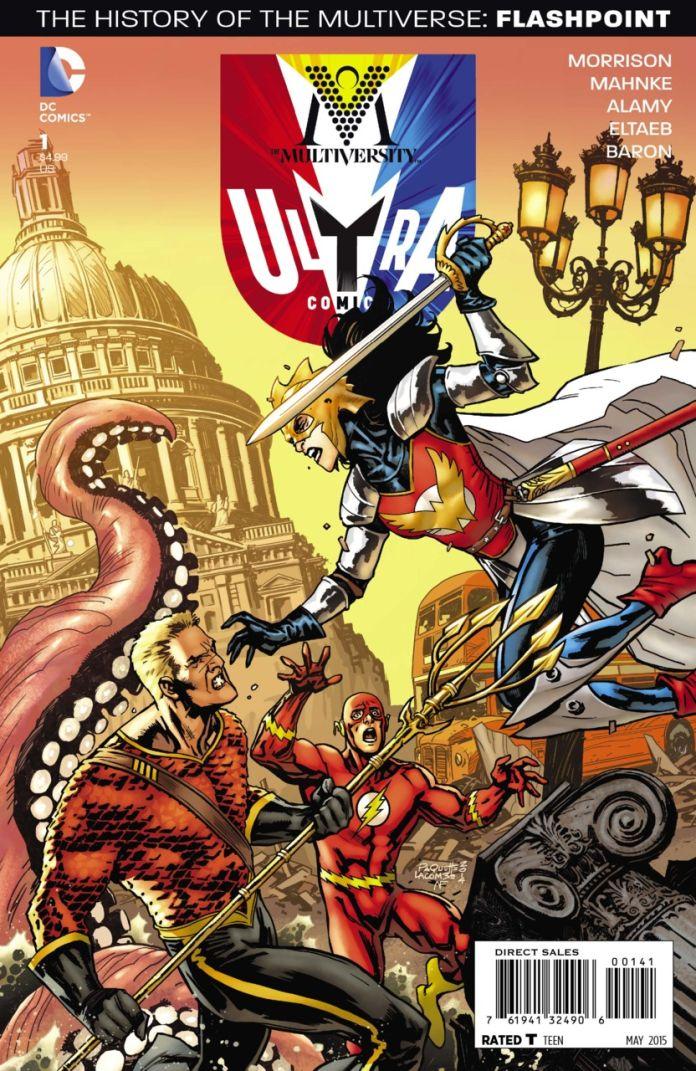 Multiversity Ultra Comics by Yanick Paquette