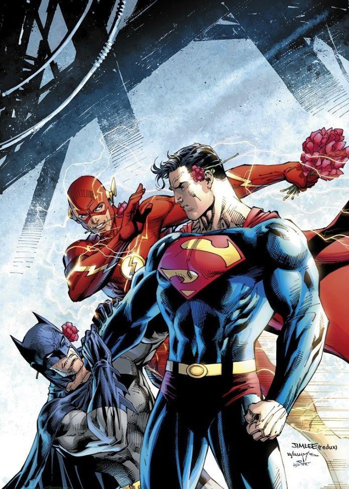 batman superman flash variant