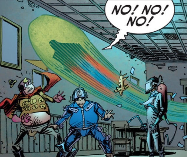 That is precisely how I felt, J'onn.