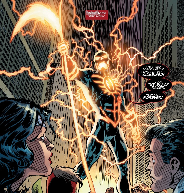 Flash's Darkseid War looks to explain what happened to him when he merged  with the Black Racer. There was actually a moment in Justice League #45  where I ...