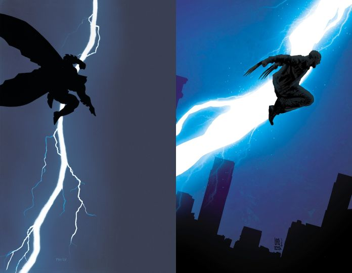 The Dark Knight Returns Old Man Logan