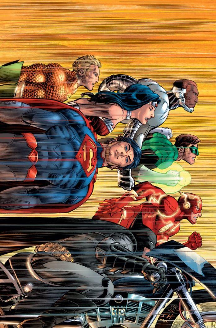 Justice League Romita Variant