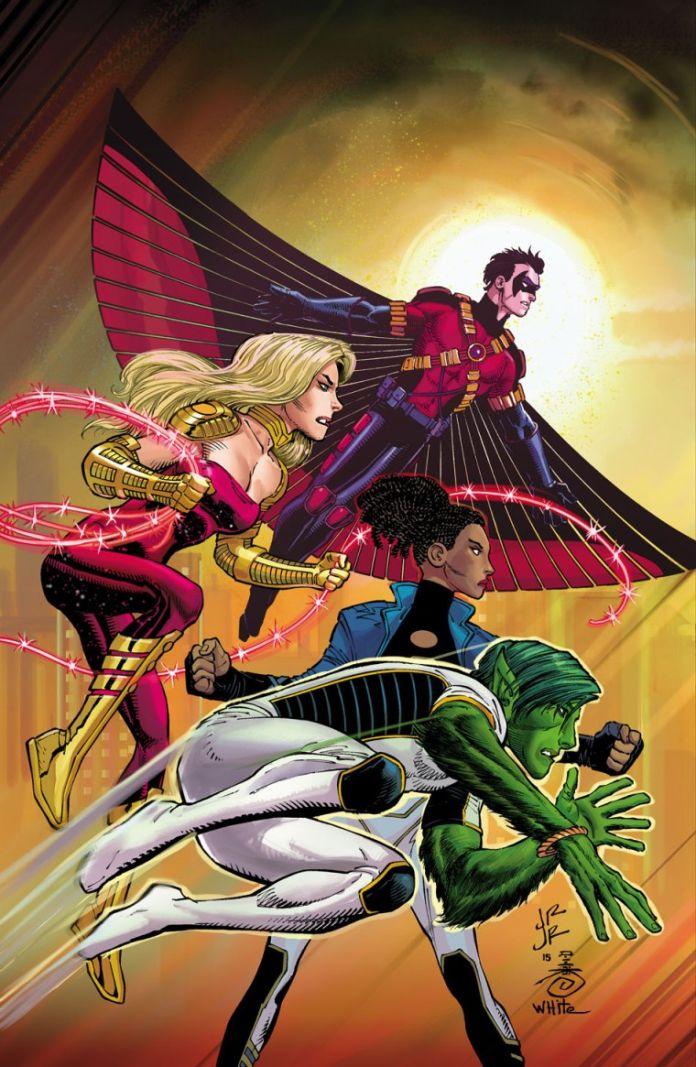 Teen Titans Romita Variant