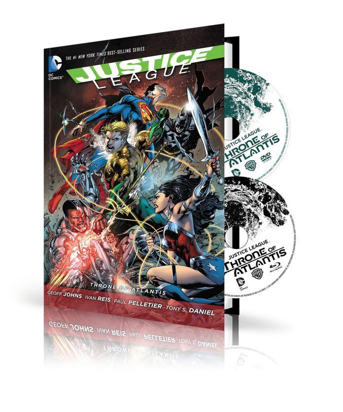 JL Throne of Atlantis DVD Set