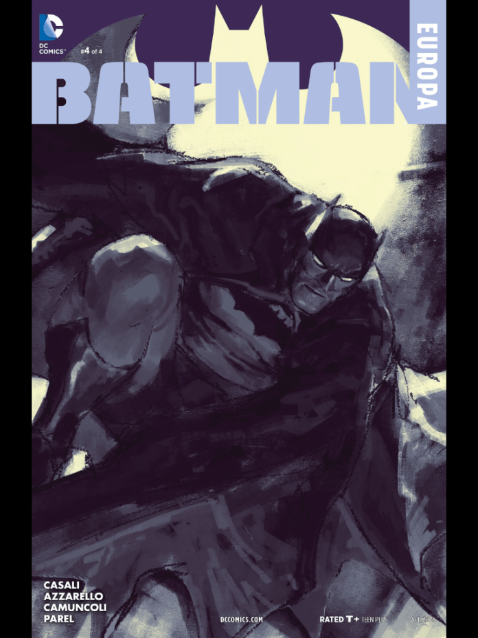 Batman Europa 4 by Gerald Parel