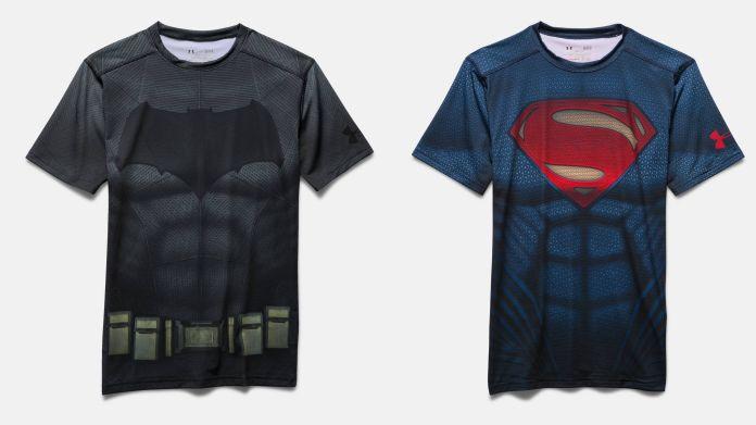 Flot Under Armour launches 'Batman v Superman' merchandise | Batman News BQ-59