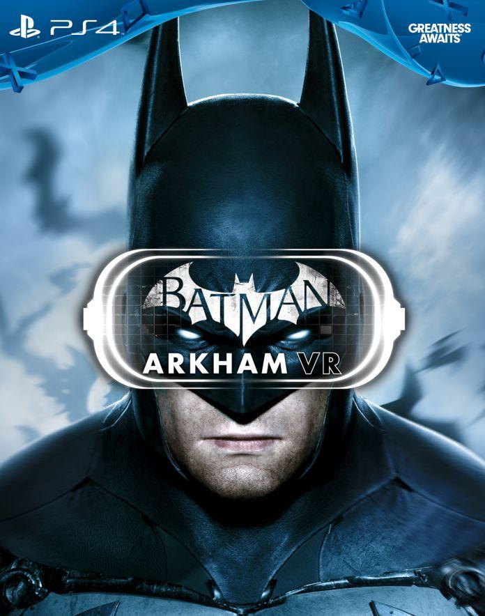 Batman Arkham VR Box Art