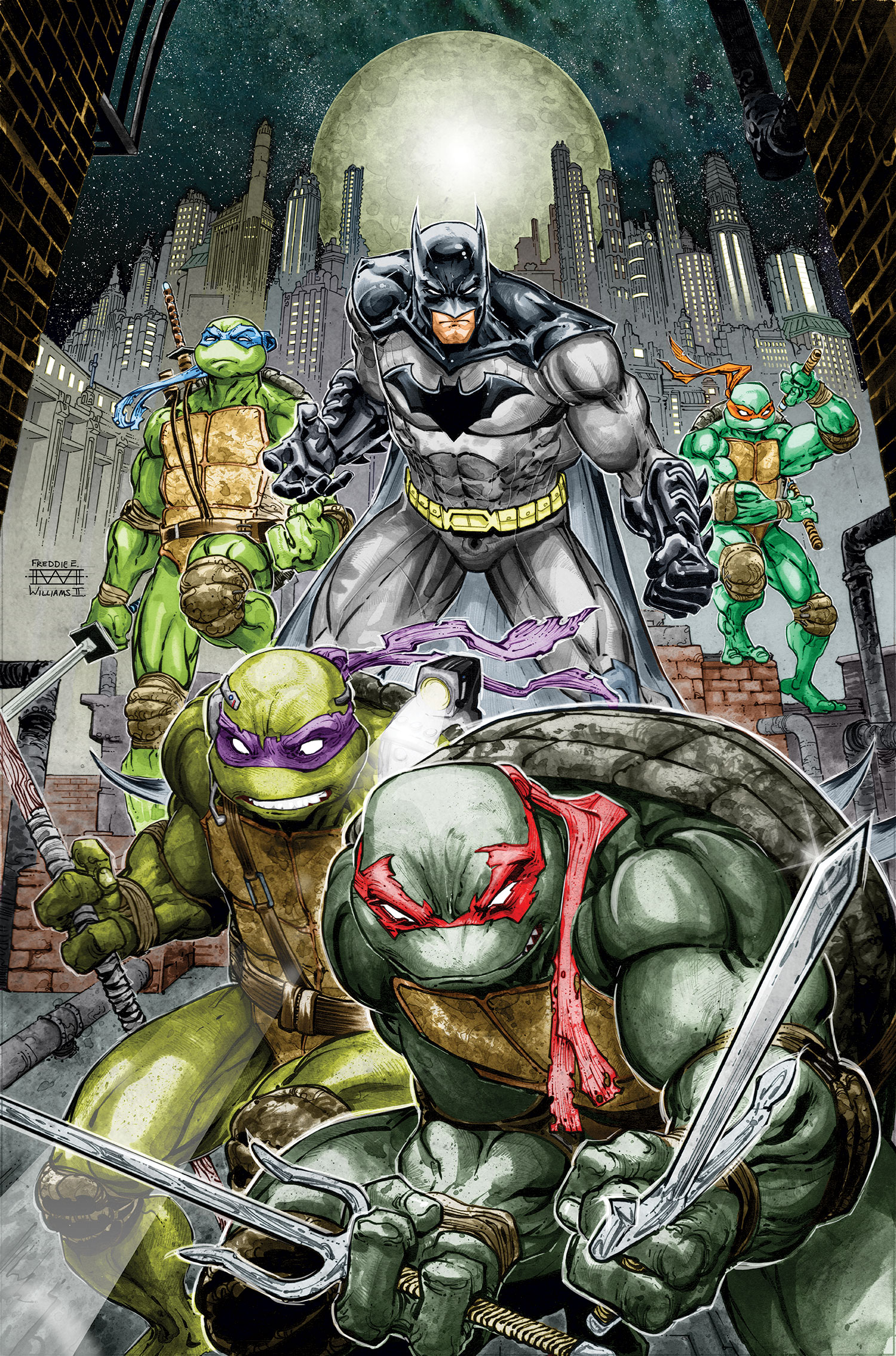 Batman Ninja Turtles DC