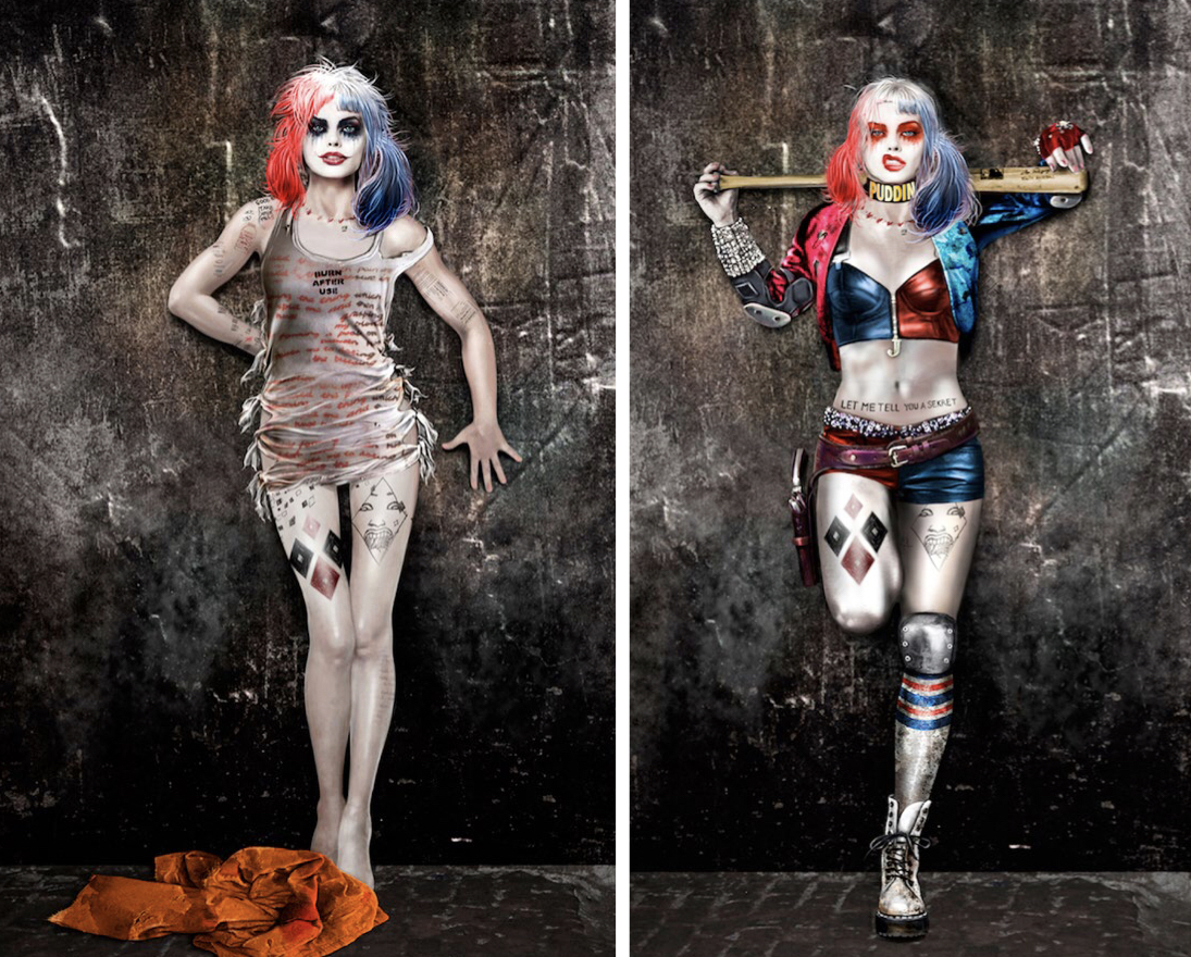 Suicide Squad\u0027 concept art shows different looks for Harley
