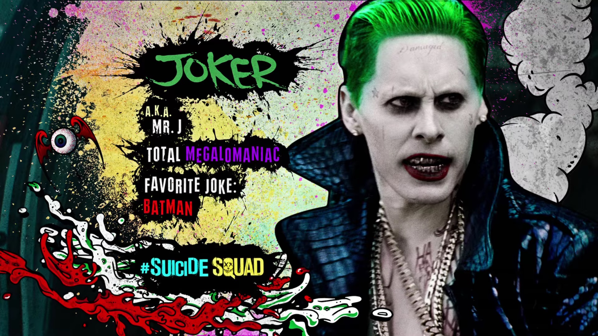 Suicide Squad HD Motion Posters