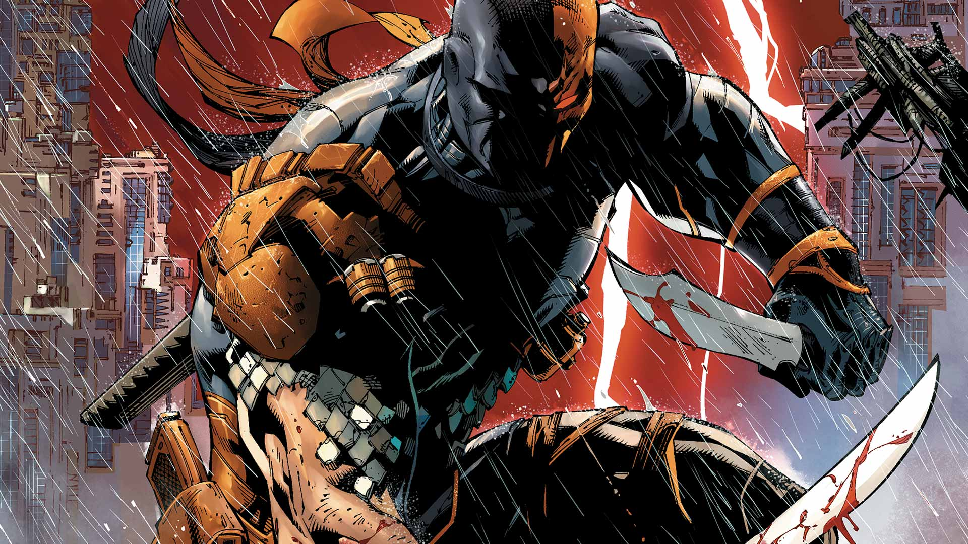 Who Is Deathstroke Just A Man Beat Up The Justice League By Himself