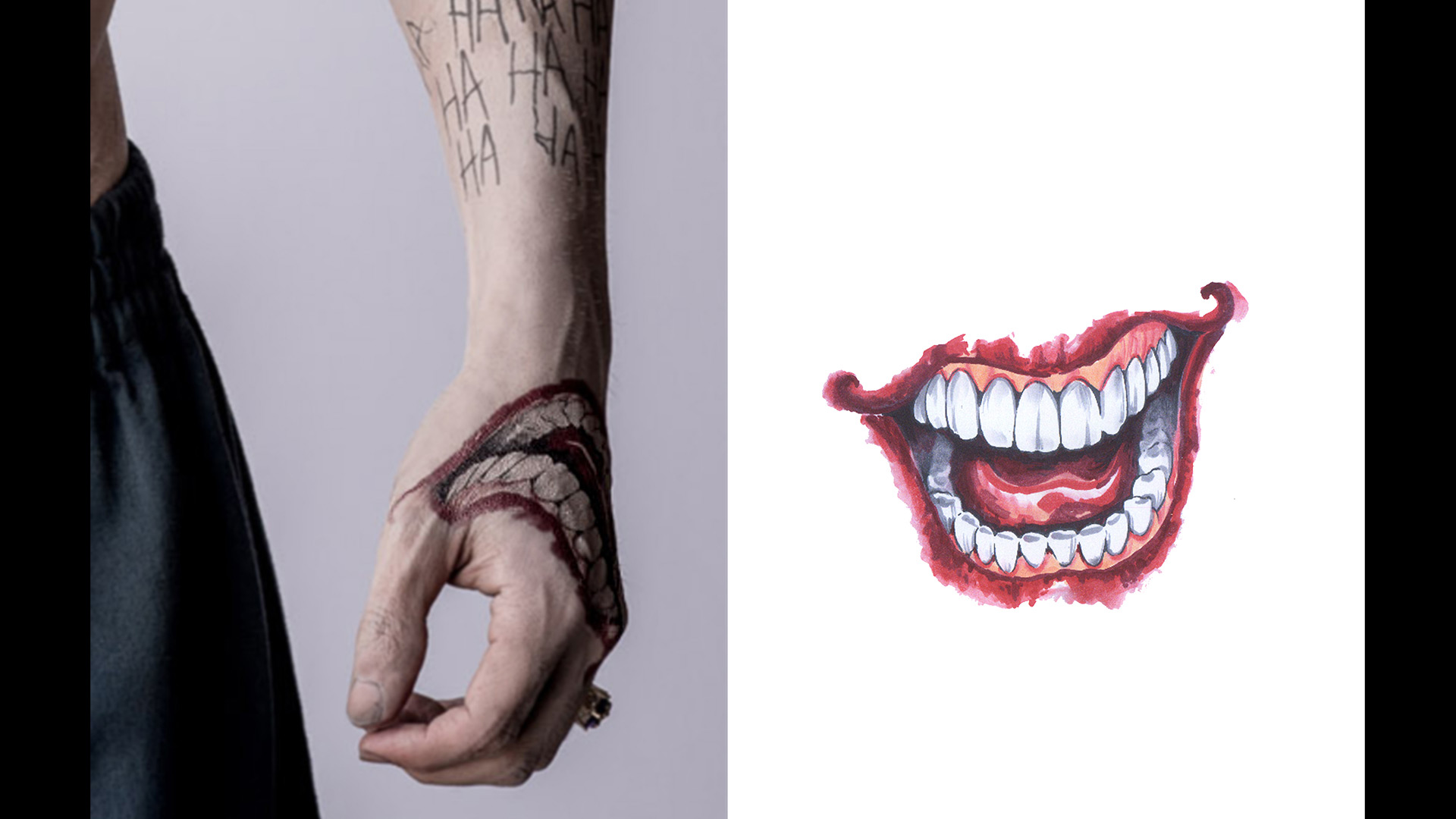 Get A Detailed Look At Jared Letos Joker Tattoos For Suicide Squad