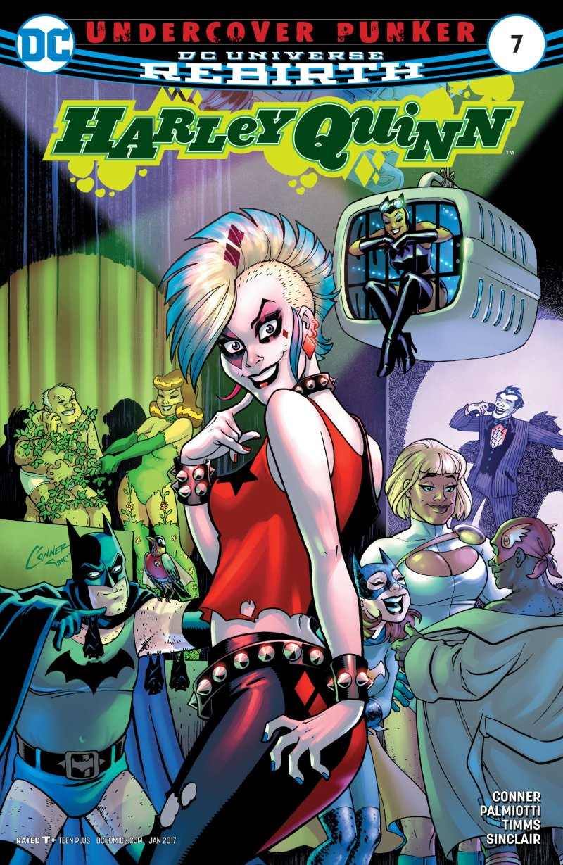 The coloring book quinn review - Harley Quinn 7