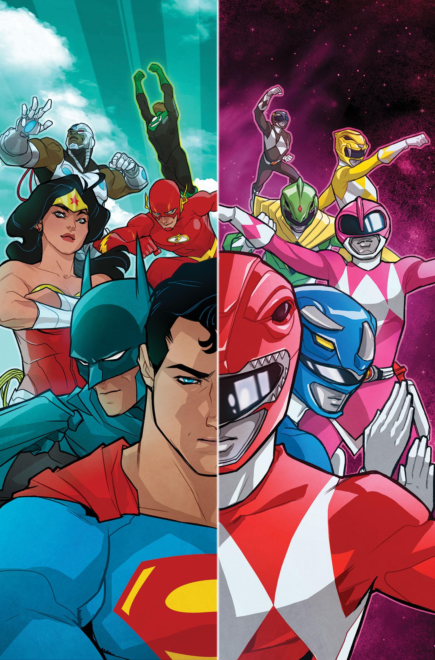 Justice League vs Power Rangers 1