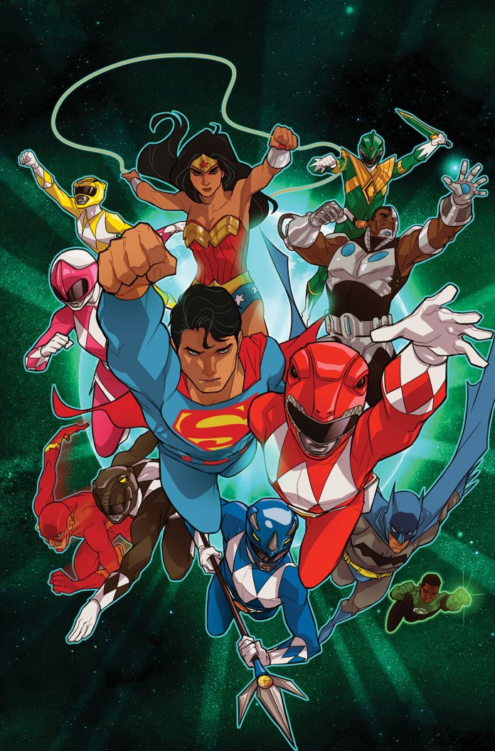 Justice League Power Rangers 2 Review Batman News