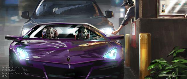 KEY_Joker_Lamborghini_DriveThru