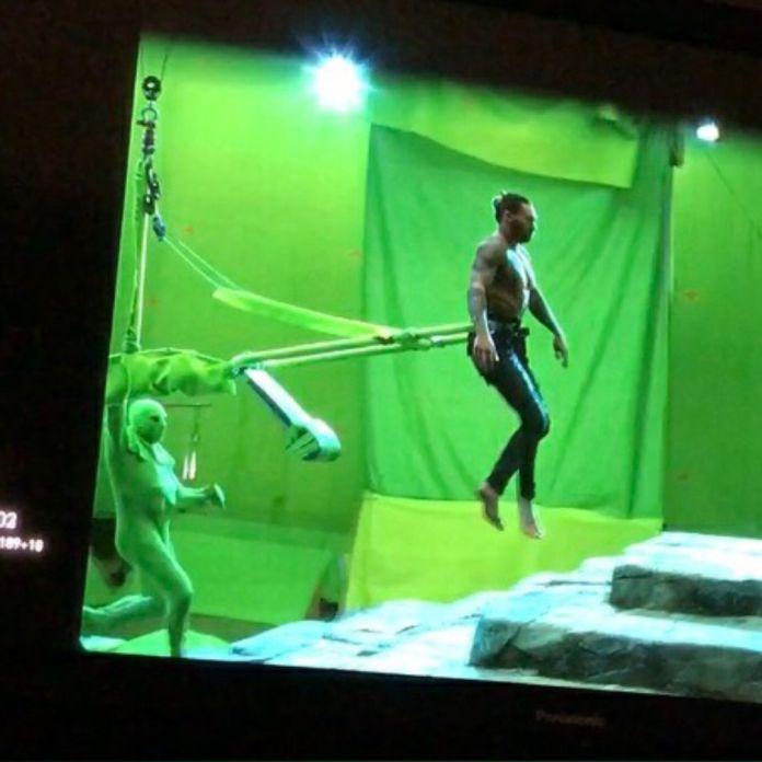 Resultado de imagen para aquaman behind the scenes