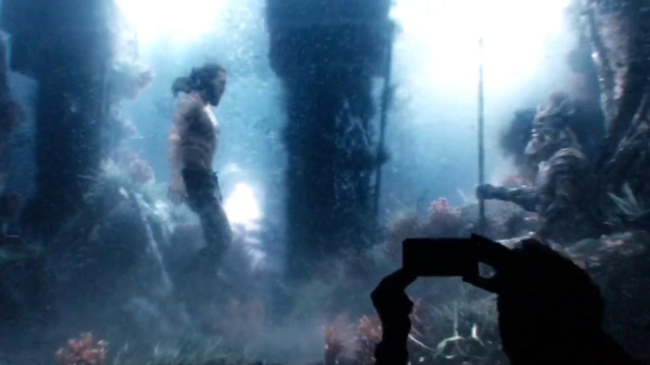 Aquaman Justice League Underwater