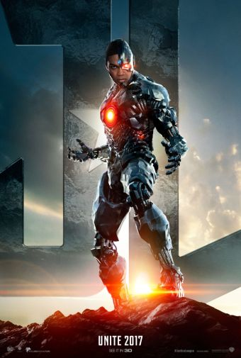 Cyborg Justice League Poster HD