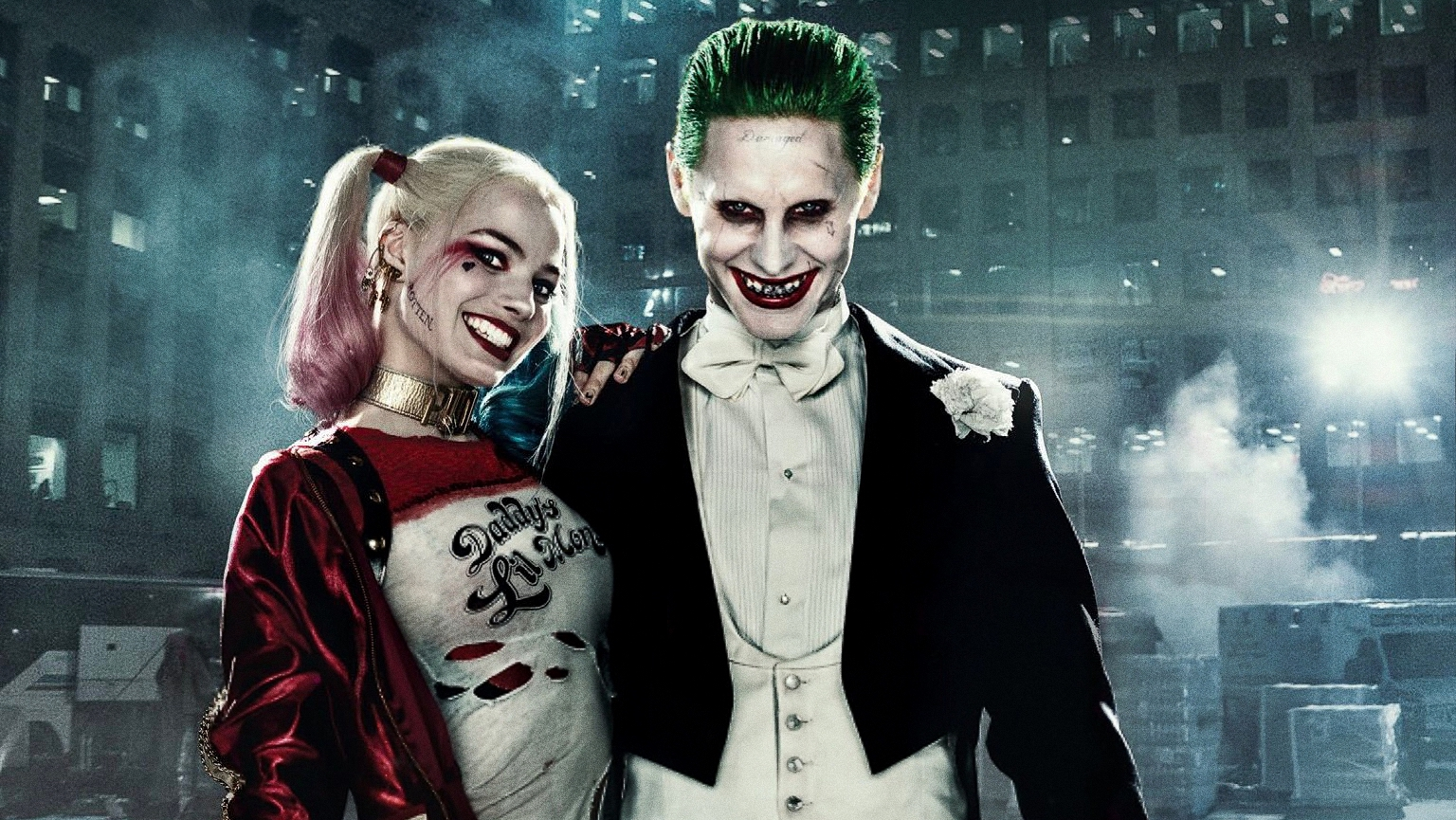 Joker and Harley Quinn Suicide Squad F