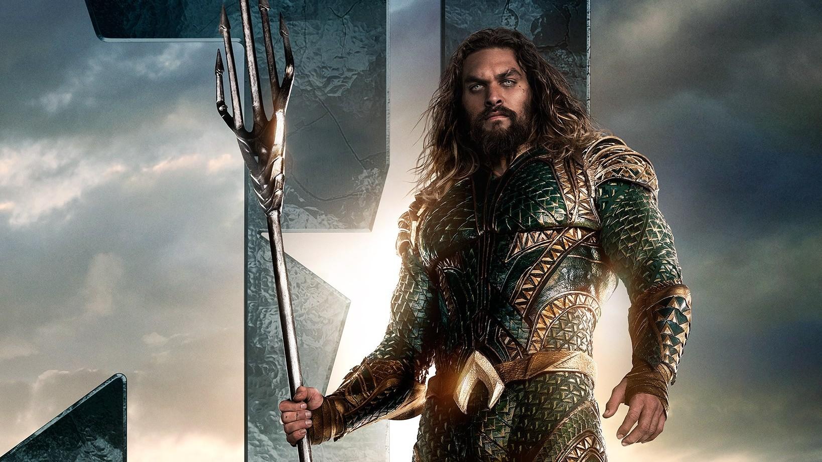 Justice League Poster Aquaman - F