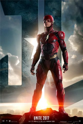 The Flash Justice League Poster