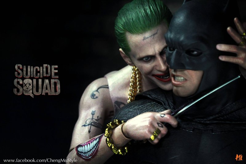 Jared Leto shares photo of his Joker vs. Ben Affleck's ...