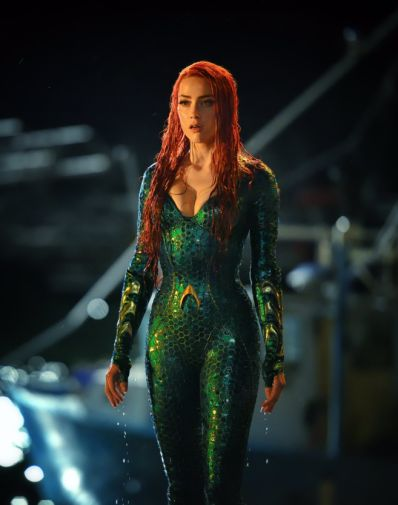 Amber Heard Mera Aquaman First Look