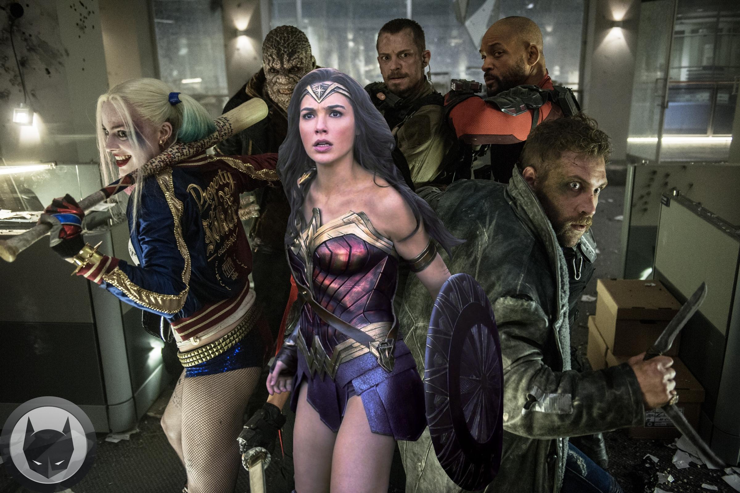 Wonder Woman Suicide Squad Batman News