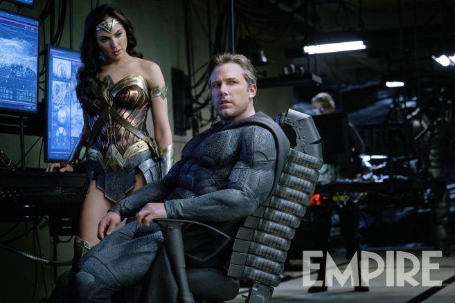 Justice League Ben Affleck Batman Gal Gadot Wonder Woman
