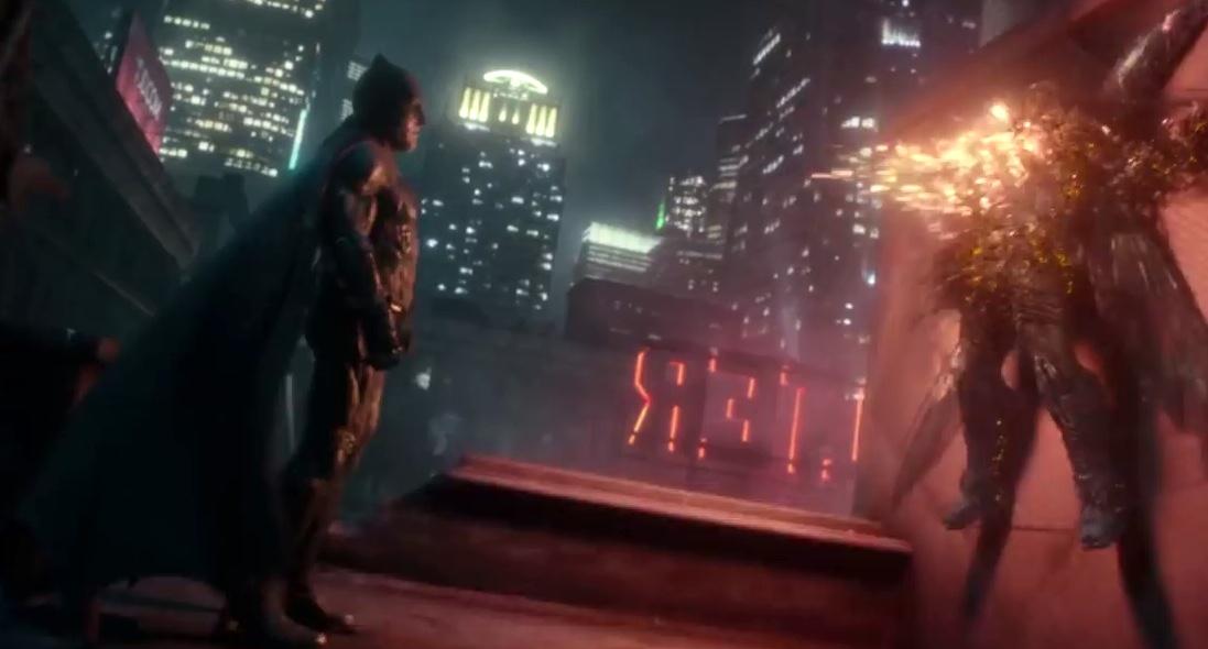 Batman Opening Justice League