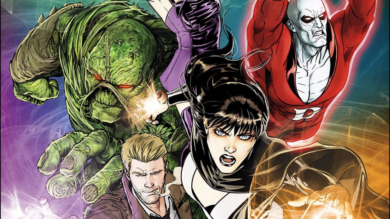 'Justice League Dark' Concept Art Shows What Might Have Been