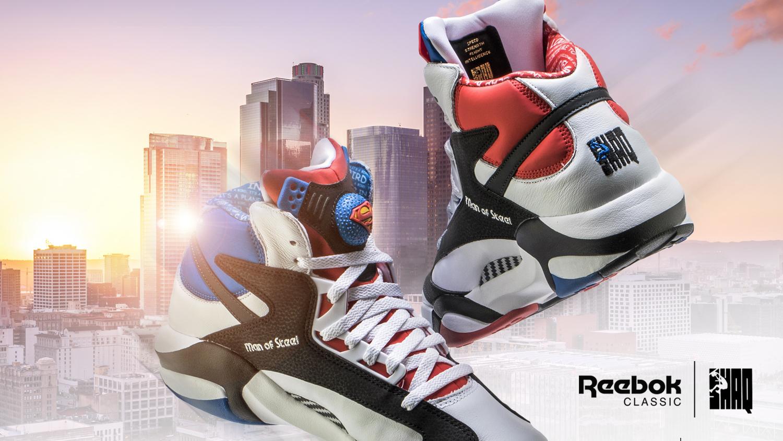 Reebok for Shaq Attaq Superman shoes